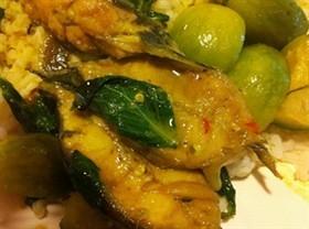 แกงเขียวหวานปลาดุก