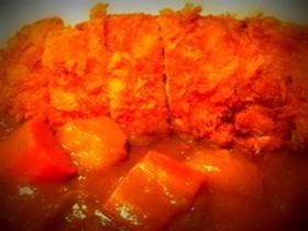 ข้าวแกงกะหรี่หมูทอด