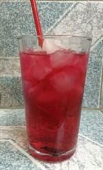 น้ำแดงมะนาวโซดา